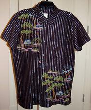 NWT CUSTO BARCELONA Men's Short Sleeve Shirt, sz 3 (L)