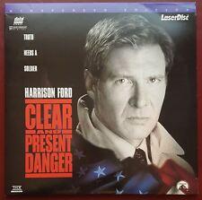 Clear and Present Danger - NTSC 2-Laserdisc's - Harrison Ford