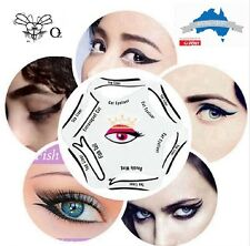 6 in 1 Stencils Eyeliner Template Smoky Makeup Guide Cat Eye Liner Quick Tool