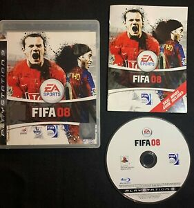 FIFA 08 - Sony PlayStation 3 2008 Soccor Game PS3 Complete w/ Manual + FREE POST