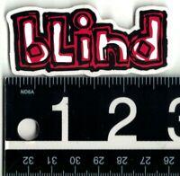 BLIND SKATEBOARDS CLASSIC OG STICKER 2.6 in x 1.2 in Red/White Skate Decal