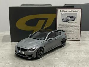 1:18 GT Spirit GT832 BMW M4 CS Lime Rock Grey *Asia Exclusive* with Certificate