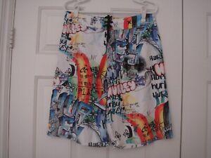 Hurley Graffiti Board Shorts size 31