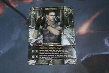 Chris Redfield Card - Resident Evil Deck Building Game - CH-028 - Outbreak Exp