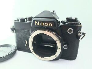 <AS IS> Nikon FE Black 35mm SLR Manual Focus MF Used Film Camera from Japan 2430