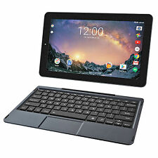 "2 in 1 Tablet Quad-Core Processor 11.5"" Screen Intel 32gb Laptop Keyboard Black"