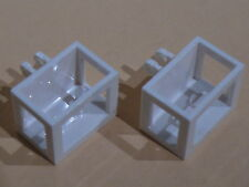 Lego nacelles blanches set 7945  7240 et 3179 - crane basket with locking hinge