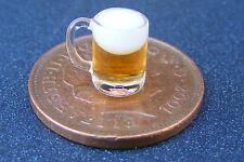 1:12 Scala Birra in una tazza di vetro Dolls House Pub Bar Drink Accessorio GLA38bA