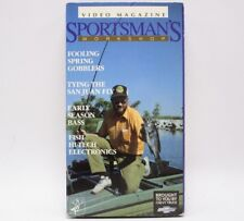 Video Magazine Sportsman's Workshop Hunting Fishing Outdoor Movie VHS Tape