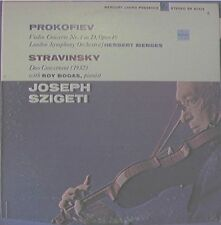 JOSEPH SZIGETI, PROKOFIEV STRAVINSKY BOGAS MENGES - LP