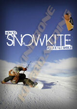 Learn How To SnowKite DVD Instructional Snowkiting Vol 1 Kiteboarding Snowboad