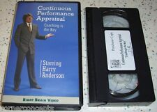 Continuous Performance Appraisal Harry Anderson Coaching is the Key VHS