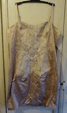 Light beige knee length dress by ASOS Size 16