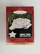 1997 U.S.S. Defiant Star Trek Deep Space Nine New In Package Lights Up