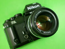 Nikon FA black finish w/ outstanding Nikkor AIs 1.4/50