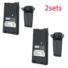 2x 1650mAh BP-210N Battery for ICOM IC-V8 V82 U82 A6 A24 F11 F21 F30 F31GS F41GS