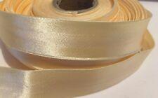 Yellow Satin Ribbon 20mm width cut