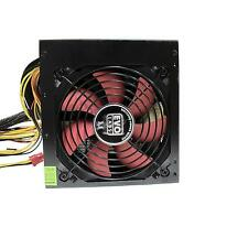 Evo Labs BR750-12R 750 watts ATX 12cm Power Supply Unit 12cm Red Fan Silent