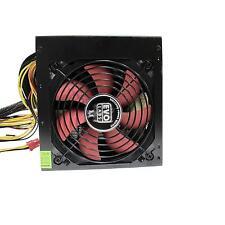 Evo Labs BR750-12R 750 watts ATX Computer Power Supply Unit 12cm Red Fan Silent