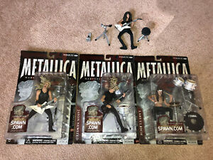 Metallica Harvester Of Sorrow McFarlane Action Figures Set of 4