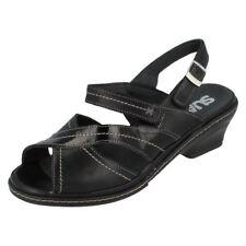 Buckle Patent Leather Slingbacks Sandals & Flip Flops for Women
