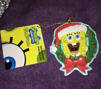 Sponge Bob Squarepants 4' Christmas Tree Ornament Kurt S Adler Nickelodeon 2013