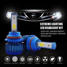 60W 6000LM LED Headlight Kit 9007 Dual Hi/Lo Beam Bulb 6000K 2-Sided Xenon White