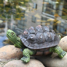 Realistic Resin Craft Turtle Statue Outdoor/Indoor Landscape Creative Decor