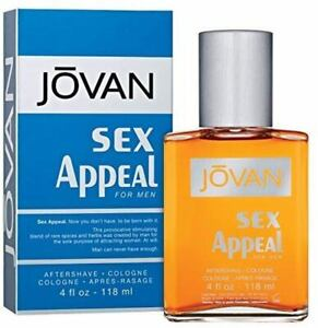 Jovan After Shave Cologne Sex Appeal 4 Fluid Ounce -powerful persuasive fragranc