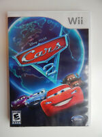 Cars 2: The Video Game Game Complete! Nintendo Wii Disney Pixar