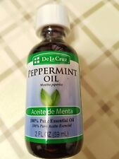 Peppermint Oil De La Cruz 100 % Pure Essential Oil 2 fl oz Aceite de Menta USA