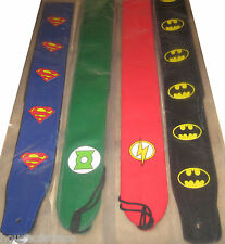 Super Hero Leather Guitar Strap