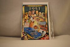 Flickback Greeting or Birthday Card With DVD  For Those Born in 1951    (v417)