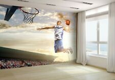Basketball Player in Action Wallpaper Mural Photo 28629224 budget paper