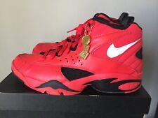 Nike Air Maestro 2 II QS Men's University Red Trifecta Black AJ9281-600 Sz 10.5