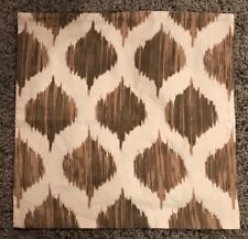 Pillow Cover Brown Ivory Patterned Farmhouse Pottery Barn Style 4 Available