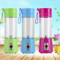 Juicer Portable Electric Blender Rechargeable Personal Juicer Cup USB Charger MF