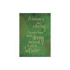 Strong Woman All Occasions Greeting Card & Envelope by Tree Free