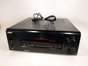 Sony STR-DA4ES Digital Cinema Amplifier Receiver Tested and Working