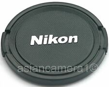 Snap-on Front Lens Cap For Nikon Coolpix P520 P-520 Safety Dust Cover with cord