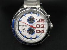 New Old Stock DIESEL Double Down DZ4313 Chronograph Date Quartz Men Watch