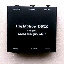 USB DMX512 LED light DMX-Stage Signal Isolation Amplifiers AMP splitter