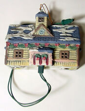 Lionel Trains Collectors Christmas Ornaments 1st Ed Train Station with light