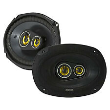 Kicker CSC693 CS-Series 6x9-Inch (160x230mm) 3-Way 4-Ohm 450W Peak Speakers