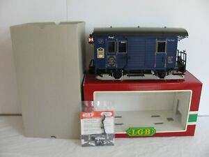 LGB 1985 Jahreswagen 104 Year Anniversary Mail Post Box Car w/ Lighted Markers