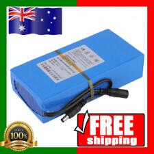 AU FREE SHIPPING Mini Portable DC 12V 3000mAh Rechargeable Li-ion Battery Pack