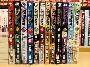 ULTIMO 1-12 STAN LEE Manga Collection Complete Set Run ENGLISH RARE