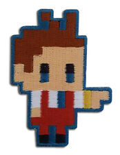 ACE ATTORNEY - APOLLO PIXEL ART PATCH new 100% authentic and licensed sealed