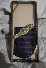 Goldenweve All Cotton Springmaid Fabric Men's Handkerchief Stripped Navy H17