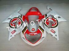 For GSXR600/750 2001-2003 ABS Injection Mold Bodywork Fairing Kit Lucky Strike